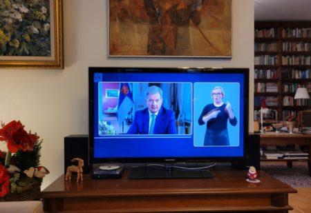 Kunnallisvaalit 2021 ja tasavallan  presidentti Sauli Niinistön uudenvuoden puhe