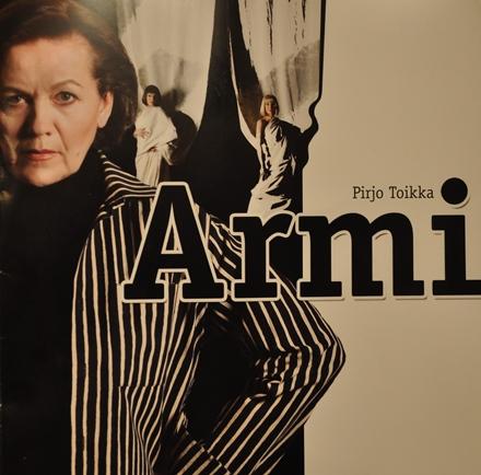 HKT /Armi, käsiohjelman kansi (Kuva Charlotte Estman-Wennström)